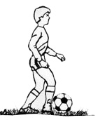 Quick foot reaction-strengthens and kickens reaction time for soccer-passing, dribbling, kicking
